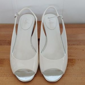 Cole Haan Patent Leather Sandals